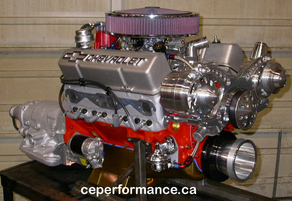 Crate Engine Performance Chevrolet 388 cubic inch performance engine
