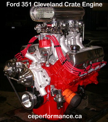 CE Performance high performance engine... click on image for a larger engine photo