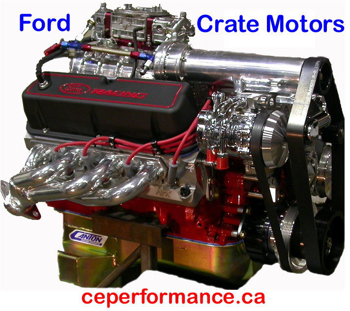 The Crate Engine Shop For Chevrolet (GM