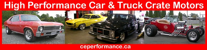 Call 604-968-4877 for High Performance Chevy, Ford and Dodge V8 Crate Engines