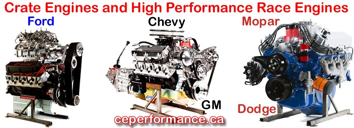 Call Crate Engine Performance at 604-968-4877 for custom, quality high performance crate engines built to suit your needs!